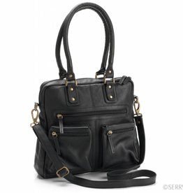 Ebony Leather Purse