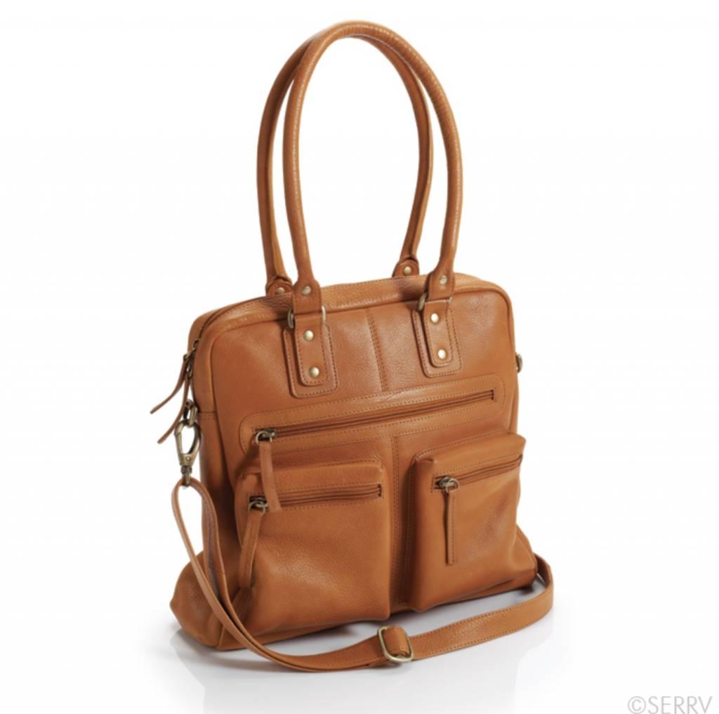 Caramel Leather Purse
