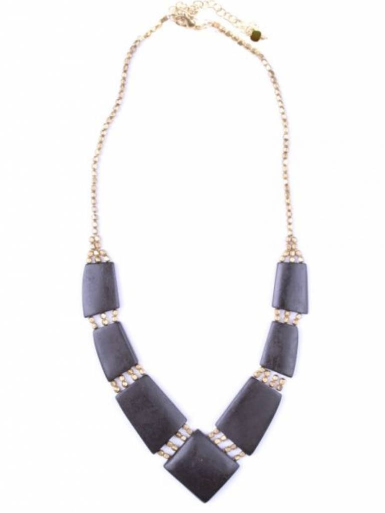 Archer Necklace - BLK