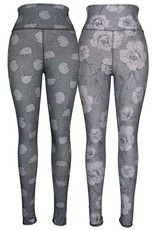 Green 3 Apparel Hedgehog & Roses Reversible Leggings