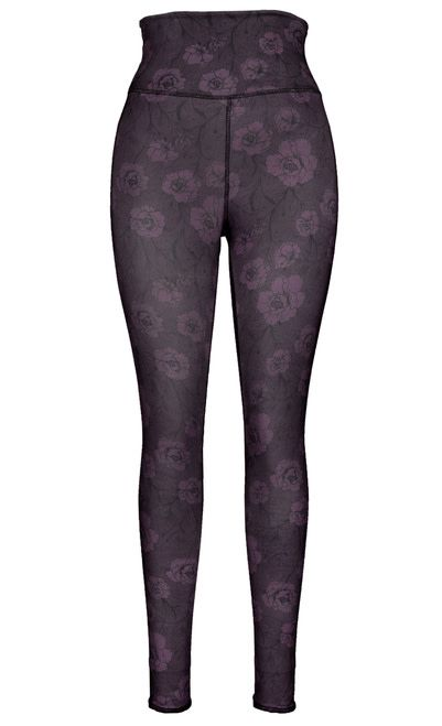 Green 3 Apparel Skulls & Roses Reversible Leggings