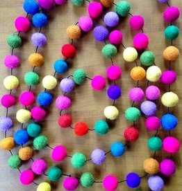 Felt Ball Garland (10ft)
