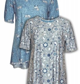 Kitty & Floral Reversible Tunic