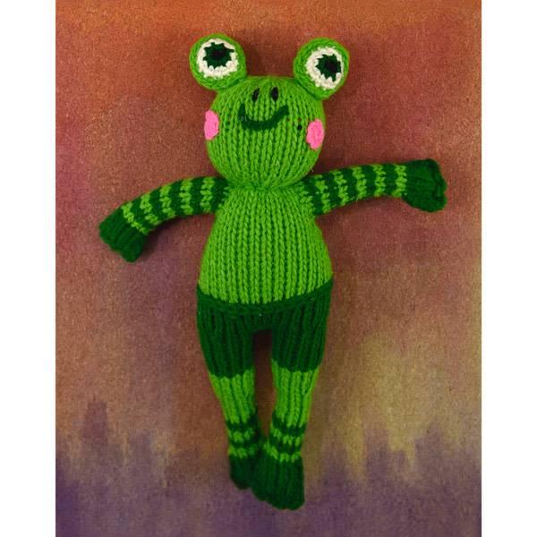 Frog Dandy Doll