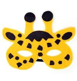 Giraffe Felt Mask