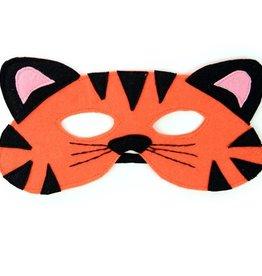 Tiger Felt Mask