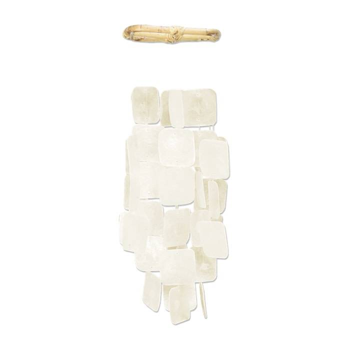 Small Square Chime White