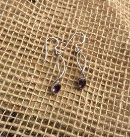Sterling Criss Cross Earrings