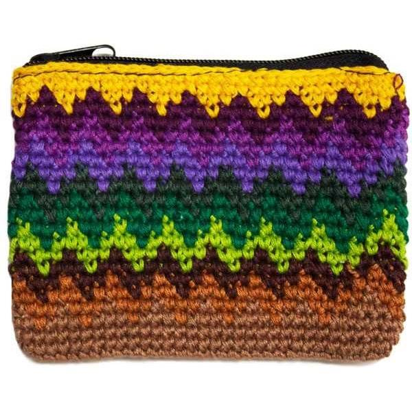 ZigZag Coin Purse