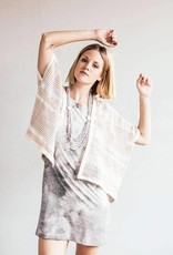 Tshirt Dress Grey Natural Dye