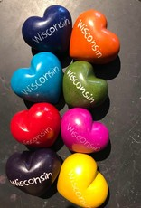 Venture Imports Wisconsin Soapstone Heart