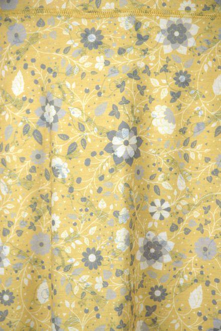 Green 3 Apparel Birds & Floral Reversible Sport Skirt