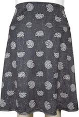 Green 3 Apparel Hedgehog & Roses Reversible Sport Skirt