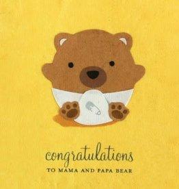 Good Paper Baby Bear Congrats