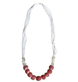Abacus Necklace Pink