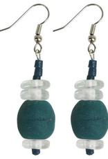 Abacus Earrings Teal