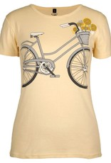 Green 3 Apparel Bicycle Tee on Yellow