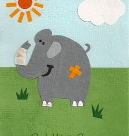Good Paper Get Well Elephant