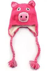 Child Wool Animal Hat