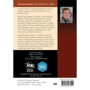 Dr. Randy Guliuzza Human Design: The Making of a Baby