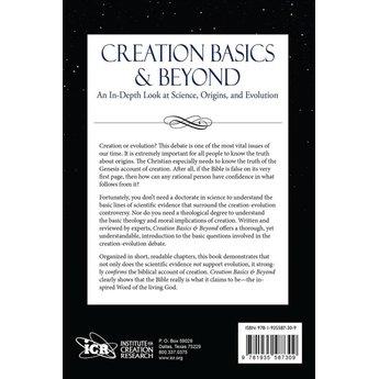 Creation Basics and Beyond