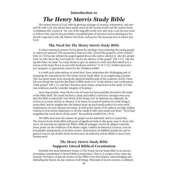 Dr. Henry Morris The Henry Morris Study Bible - Calfskin Leather