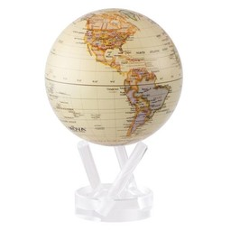 "Mova Globe - 4.5"" Antique Gloss"