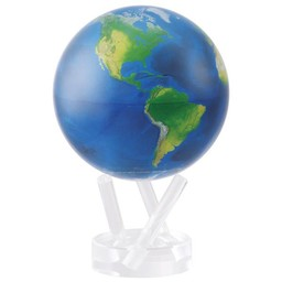 "Mova Globe - 4.5"" Natural Earth"