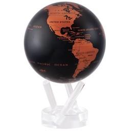 """Mova Globe - 4.5"""" Copper/Black Earth"""