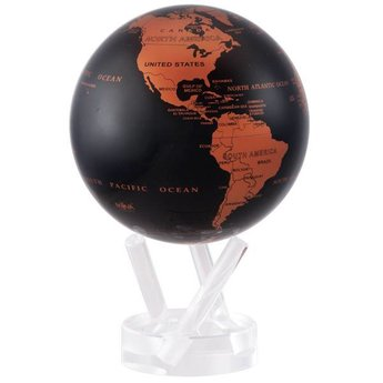 "Mova Globe - 4.5"" Copper/Black Earth"