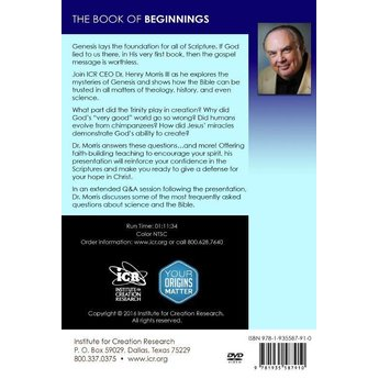Dr. Henry Morris III The Book of Beginnings (DVD)