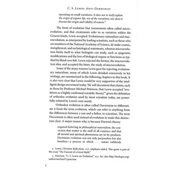 Dr. Jerry Bergman C.S. Lewis Anti-Darwinist
