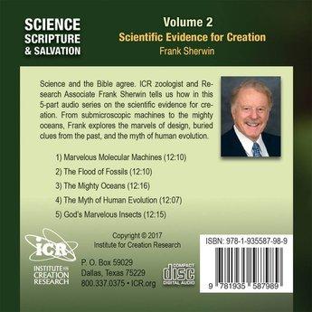 Mr. Frank Sherwin Science, Scripture, & Salvation Volume 2