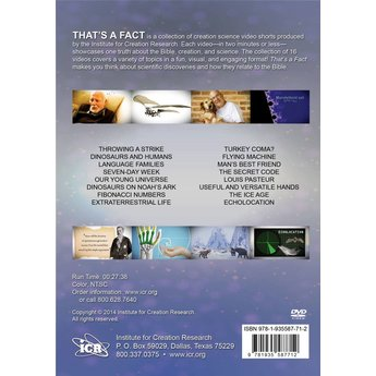 That's a Fact (DVD) - Digital Download