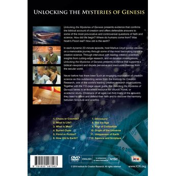 Unlocking the Mysteries of Genesis DVD Series - Digital