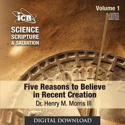 Dr. Henry Morris III Science, Scripture, & Salvation Vol 1 - Digital