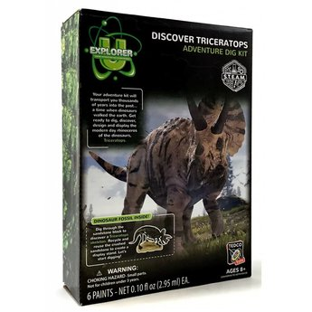 Discover Triceratops