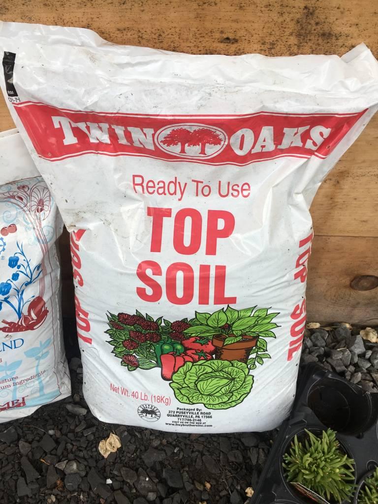Topsoil, Twin Oaks bagged Topsoil, bagged, 40lbs