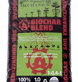 Organic Mechanics 100% Biochar 1 Cubic foot bag