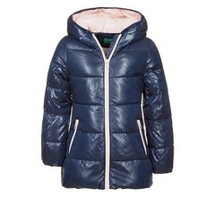 Benetton Long blue coat