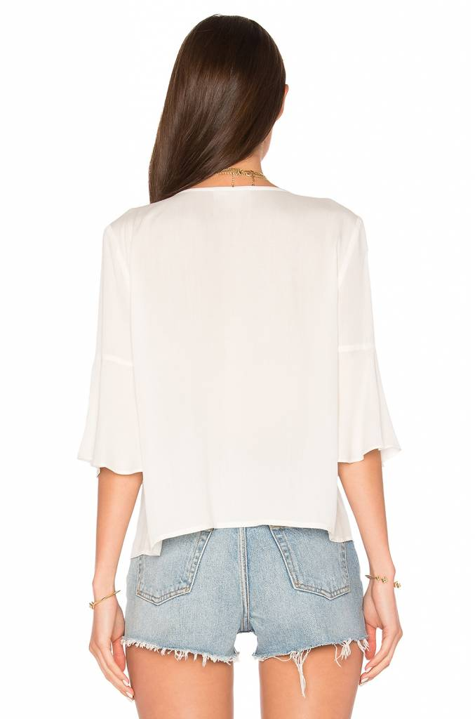 Abbey Ruffle Top