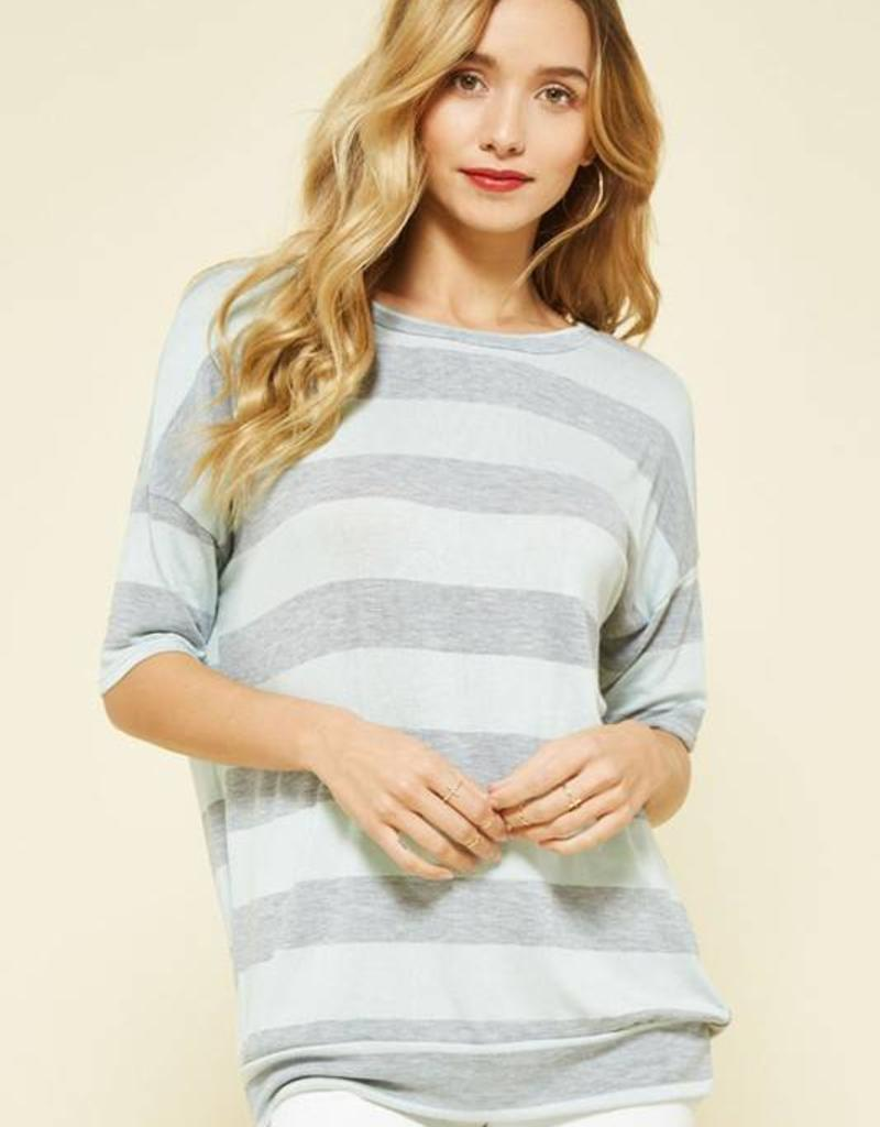 PROMESA Open Knit Top