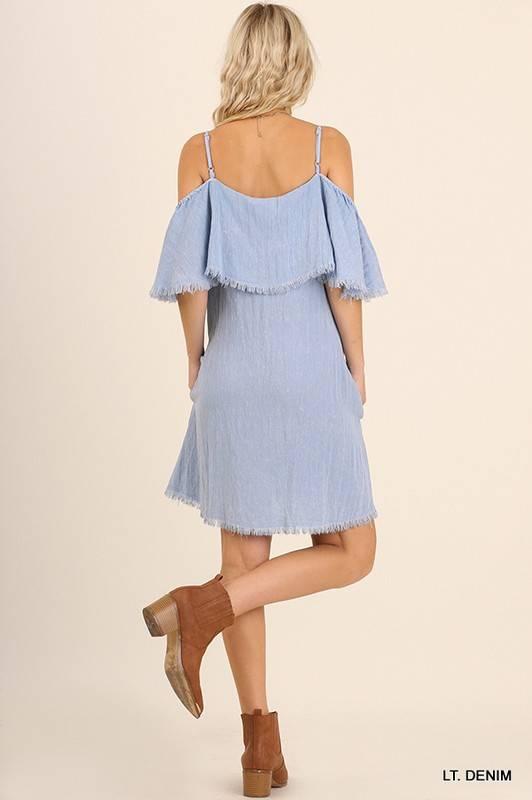 UMGEE Butterfly Sleeve Dress