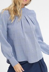 LISTICLE Pinktuck Puff Sleeve Top