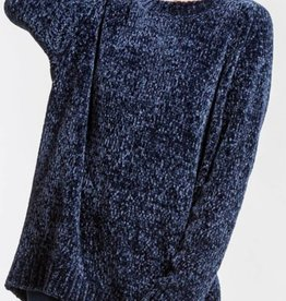 CHERISH Drop Shoulder Chenille Sweater