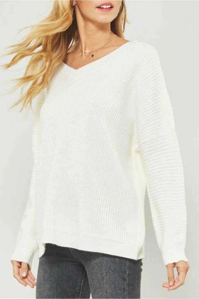 PROMESA Low Back Sweater