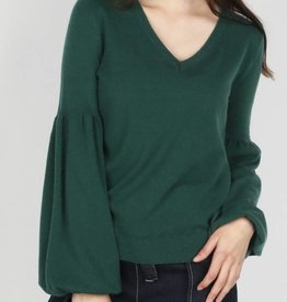 Contrast Back Sweater