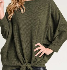 TREND NOTES Knit Dolman Top
