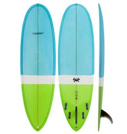 Modern Longboards Modern Love Child PU 7'0'' Blue Green