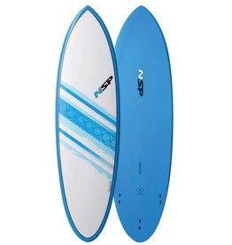 NSP NSP Elements Hybrid Short Surf 6'4 Blue